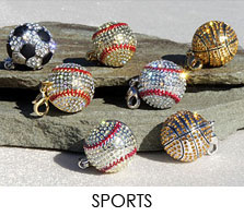 Go sports jewelry a collection of sports related jewelry sports number charms sports number charms mozeypictures Gallery
