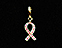 View Breast Cancer Pink Ribbon Gold Image 1