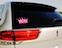 View Rhinestone Sticker Pink Crown Image 2