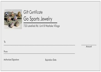 View Gift Certificate Image 1