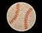 View Rhinestone Sticker Baseball Image 1