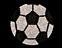 View Rhinestone Sticker Soccer Image 1