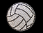 View Rhinestone Sticker Volleyball Water Polo Image 1